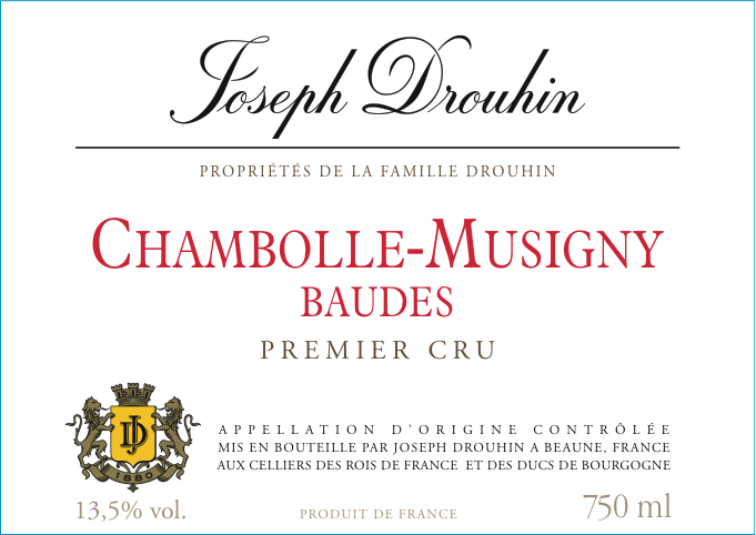 Chambolle-Musigny Premier Cru Baudes