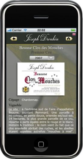 A new digital service (QR Code) available on Joseph Drouhin labelling