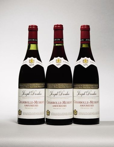 Sotheby's : Joseph Drouhin sets new record for their rare vintages